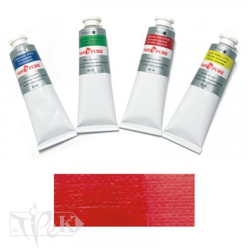 Олійна фарба 60 мл 003 яскраво-червона Van Pure