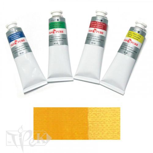 Олійна фарба 60 мл 024 жовта темна Van Pure