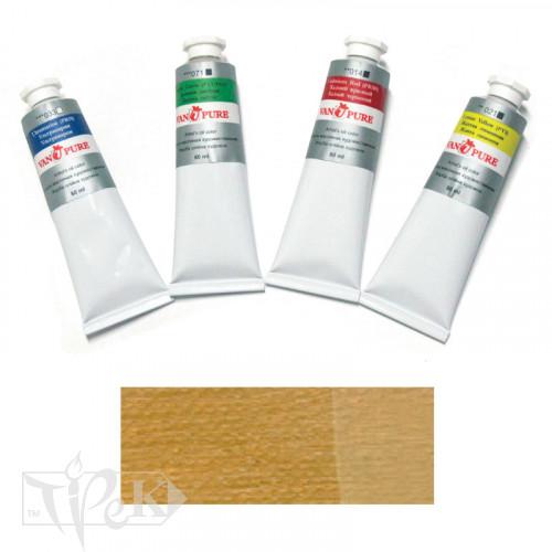 Масляная краска 60 мл 029 охра желтая Van Pure