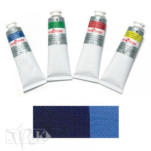 Масляная краска 60 мл 031 синяя прусская Van Pure