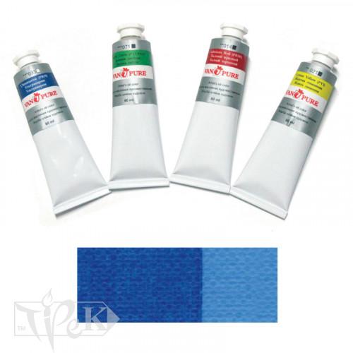 Олійна фарба 60 мл 038 кобальт синій (імітація) Van Pure