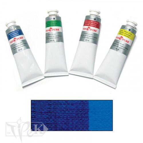 Масляная краска 60 мл 039 синяя ФЦ Van Pure
