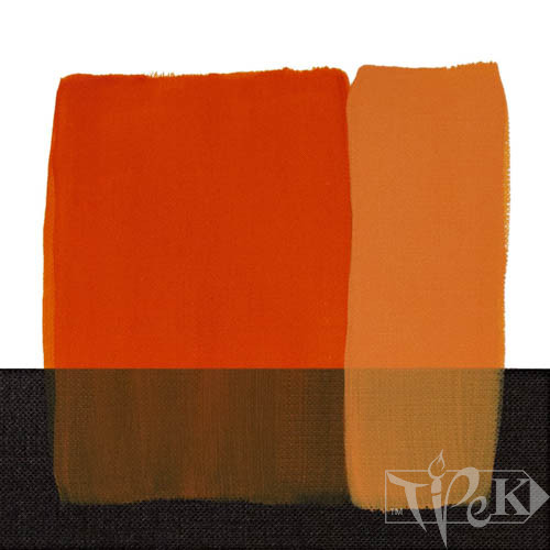 Акрилова фарба Acrilico 200 мл 062 помаранчевий стійкий Maimeri Італія