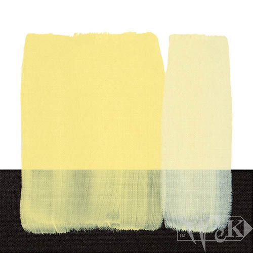 Акрилова фарба Acrilico 200 мл 105 неаполітанський жовтий світлий Maimeri Італія