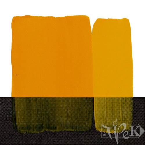 Акрилова фарба Acrilico 200 мл 113 жовтий середній стійкий Maimeri Італія
