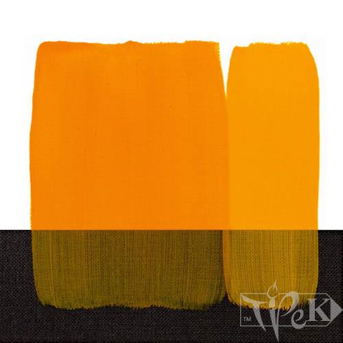 Акрилова фарба Acrilico 200 мл 114 жовтий темний стійкий Maimeri Італія
