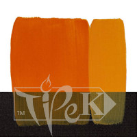 Акриловая краска Acrilico 200 мл 117 золотисто-желтый Maimeri Италия