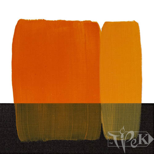 Акрилова фарба Acrilico 200 мл 117 золотисто-жовтий Maimeri Італія
