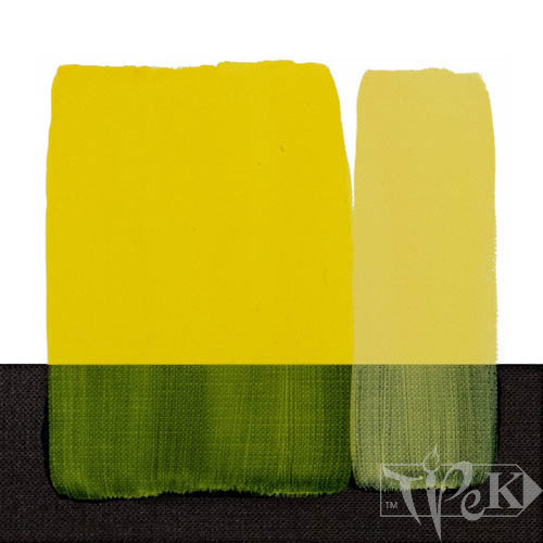 Акрилова фарба Acrilico 500 мл 112 жовто-лимонний стійкий Maimeri Італія