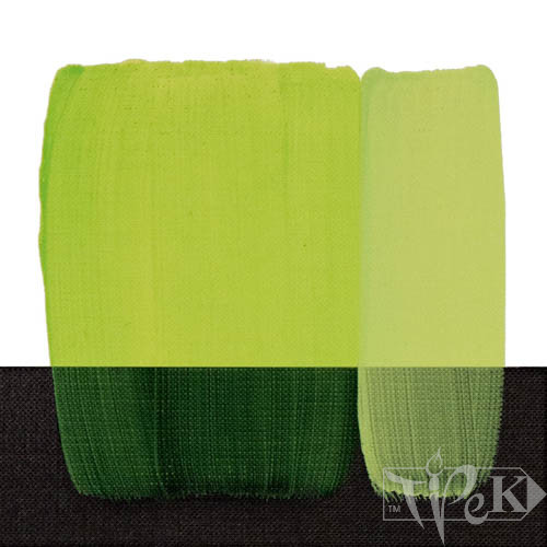 Акрилова фарба Acrilico 500 мл 120 зеленувато-жовтий Maimeri Італія