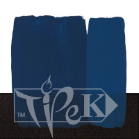 Акриловая краска Acrilico 500 мл 371 кобальт синий темный (имитация) Maimeri Италия