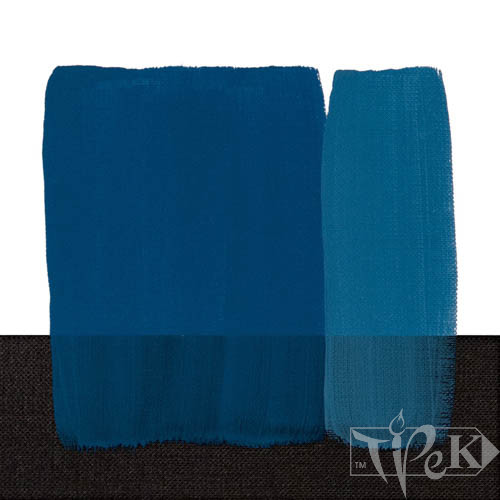 Акриловая краска Acrilico 1000 мл 370 кобальт синий светлый (имитация) Maimeri Италия