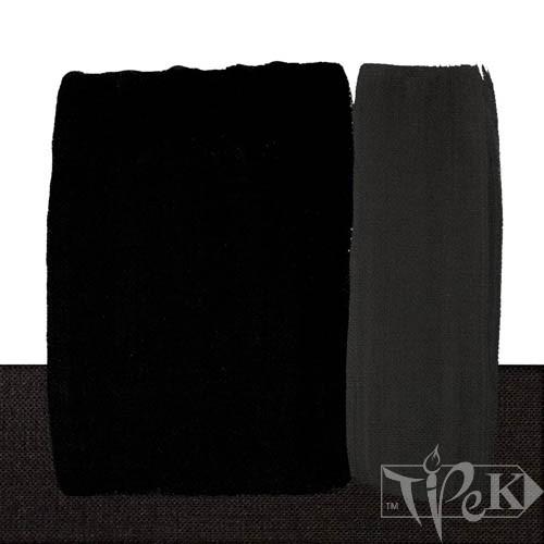 Акрилова фарба Acrilico 1000 мл 537 вугільно чорний Maimeri Італія