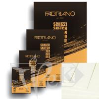57714821 Блокнот для эскизов Schizzi А5 (14,8х21 см) 90 г/м.кв. 60 листов склейка Fabriano Италия