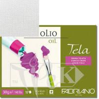 68003648 Альбом для масляной живописи Tela 36х48 см 300 г/м.кв. 10 листов Fabriano Италия