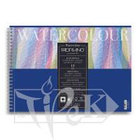 17662129 Альбом для акварели Watercolour А4 (21х29,7 см) 300 г/м.кв. 12 листов на спирали Fabriano Италия