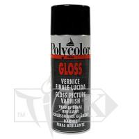 669 Лак покрывной акриловый глянцевый Polycolor флакон с распылителем 400 мл вспомогательные материалы универсальные Maimeri Италия
