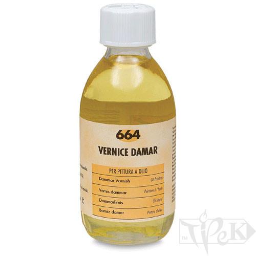 664 Лак даммарный 250 мл вспомогательные материалы для масляной живописи Maimeri Италия