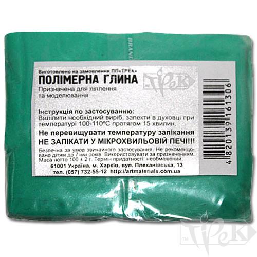 Полимерная глина бирюзовая 100 г «Трек» Украина