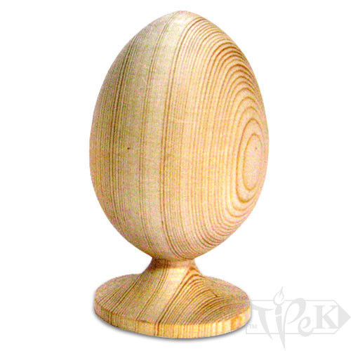 Заготовка деревянная «Яйцо Фаберже» 120 мм Украина