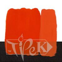 Акриловая краска Idea Decor 110 мл 219 красный светлый яркий Maimeri Италия