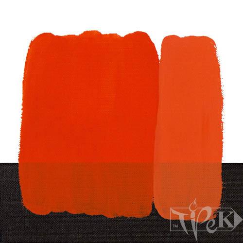 Акрилова фарба Idea Decor 110 мл 219 червоний світлий яскравий Maimeri Італія