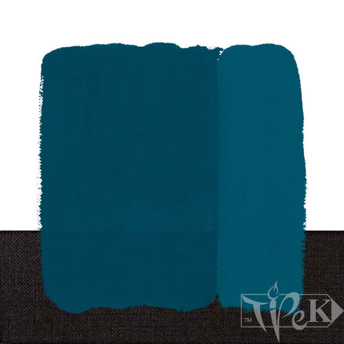Акриловая краска Idea Decor 110 мл 418 циан Maimeri Италия