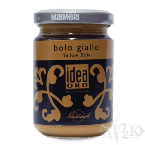 759 Полімент жовтий 125 мл допоміжні матеріали для золочення Idea Oro Maimeri Італія