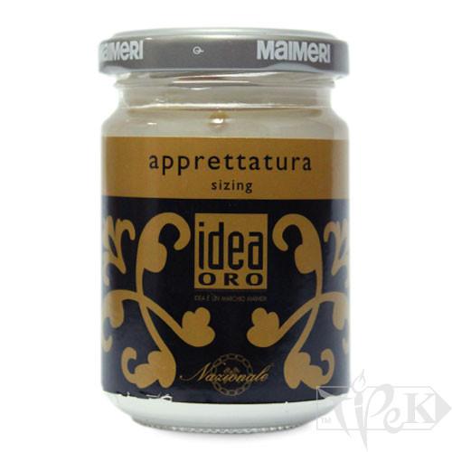 760 Левкас 125 мл вспомогательные материалы для золочения Idea Oro Maimeri Италия