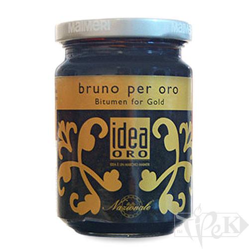 761 Битум для золота 125 мл вспомогательные материалы для золочения Idea Oro Maimeri Италия