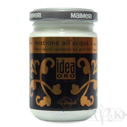 762 Мордан (микстион) водно-акриловый 125 мл вспомогательные материалы для золочения Idea Oro Maimeri Италия