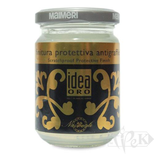 764 Лак захисний абразивостійкий 125 мл допоміжні матеріали для золочення Idea Oro Maimeri Італія