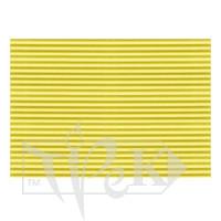 Картон цветной гофрированный Corru 918 giallo 50х70 см 300 г/м.кв. Fabriano Италия