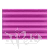 Картон цветной гофрированный Corru 920 magenta 50х70 см 300 г/м.кв. Fabriano Италия