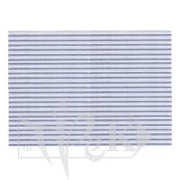Картон цветной гофрированный Corru 822 argento 20х30 см 300 г/м.кв. Fabriano Италия