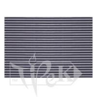 Картон цветной гофрированный Corru 912 grigio 20х30 см 300 г/м.кв. Fabriano Италия