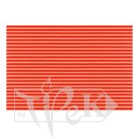 Картон цветной гофрированный Corru 915 arancio 20х30 см 300 г/м.кв. Fabriano Италия