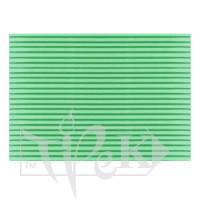 Картон цветной гофрированный Corru 919 verde 20х30 см 300 г/м.кв. Fabriano Италия