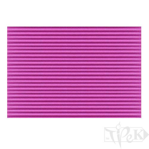 Картон цветной гофрированный Corru 920 magenta 20х30 см 300 г/м.кв. Fabriano Италия