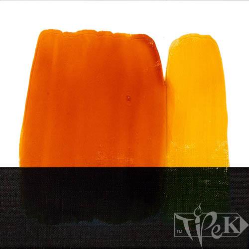 Фарба для скла 118 жовтий темний 60 мл Idea Vetro Maimeri Італія