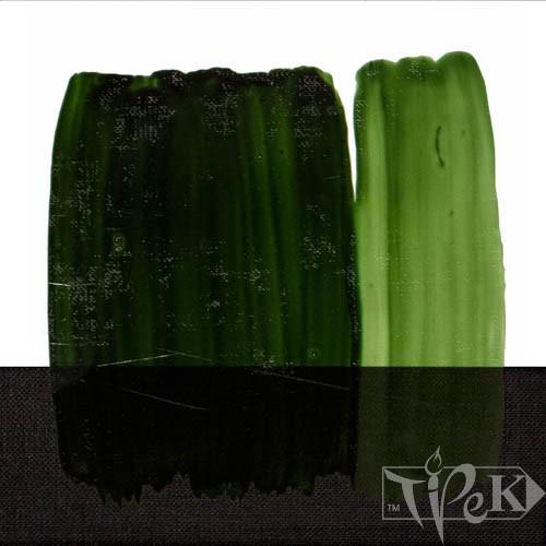 Краска для стекла 358 зеленый желчный 60 мл Idea Vetro Maimeri Италия
