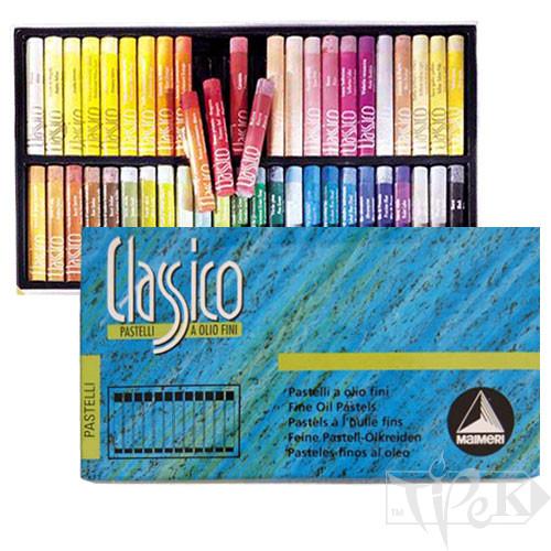 Набір олійної пастелі Classico 48 кольорів картонна коробка Maimeri Італія