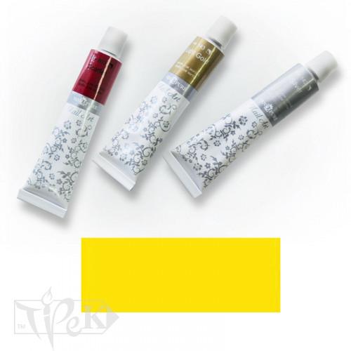Акрилова фарба Nail Art 12 мл 023 жовта середня Van Pure