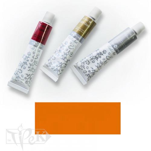 Акрилова фарба Nail Art 12 мл 026 помаранчево-жовта Van Pure
