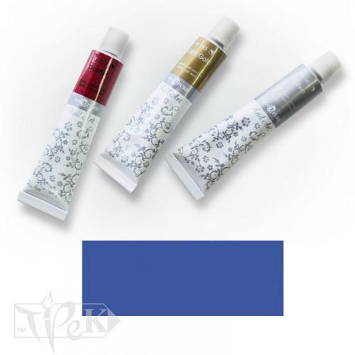 Акрилова фарба Nail Art 12 мл 038 кобальт синій (імітація) Van Pure