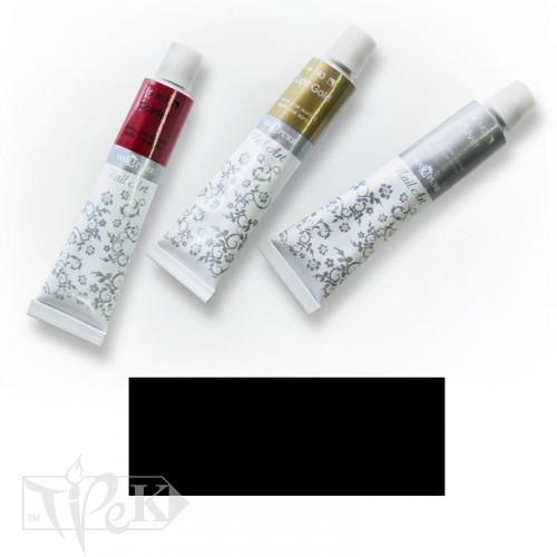 Акрилова фарба Nail Art 12 мл 051 чорна Van Pure