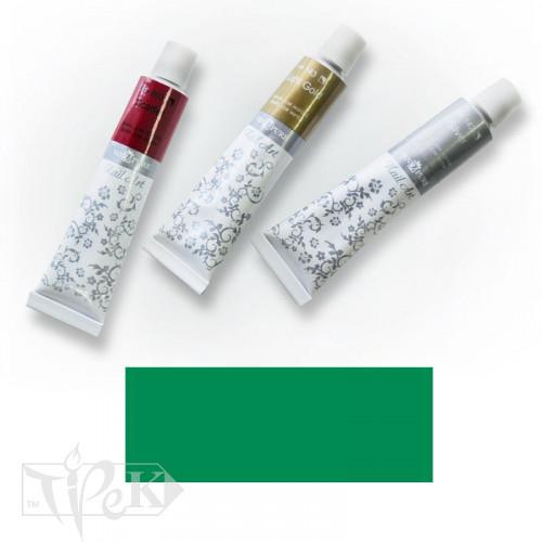 Акрилова фарба Nail Art 12 мл 061 смарагдово-зелена Van Pure