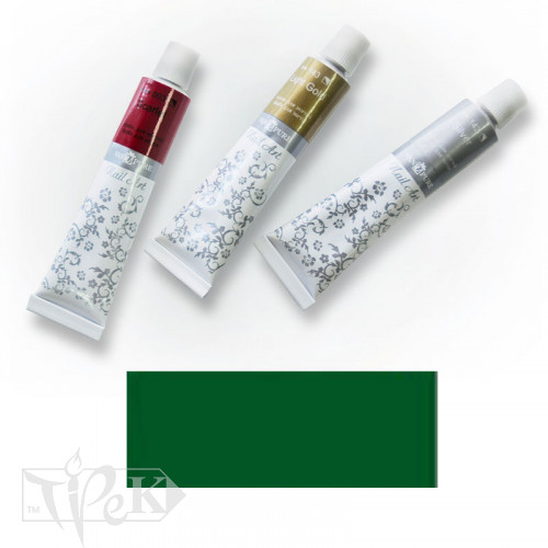 Акрилова фарба Nail Art 12 мл 063 зелена середня Van Pure