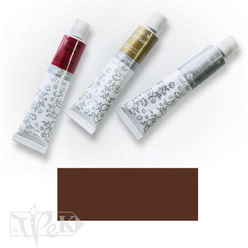 Акриловая краска Nail Art 12 мл 082 сиена жженая Van Pure