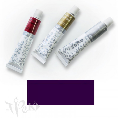 Акрилова фарба Nail Art 12 мл 091 фіолетова Van Pure